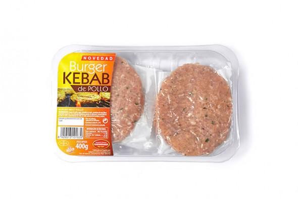 Burgerkebab de pollo