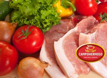 La carne de cerdo en una dieta sana